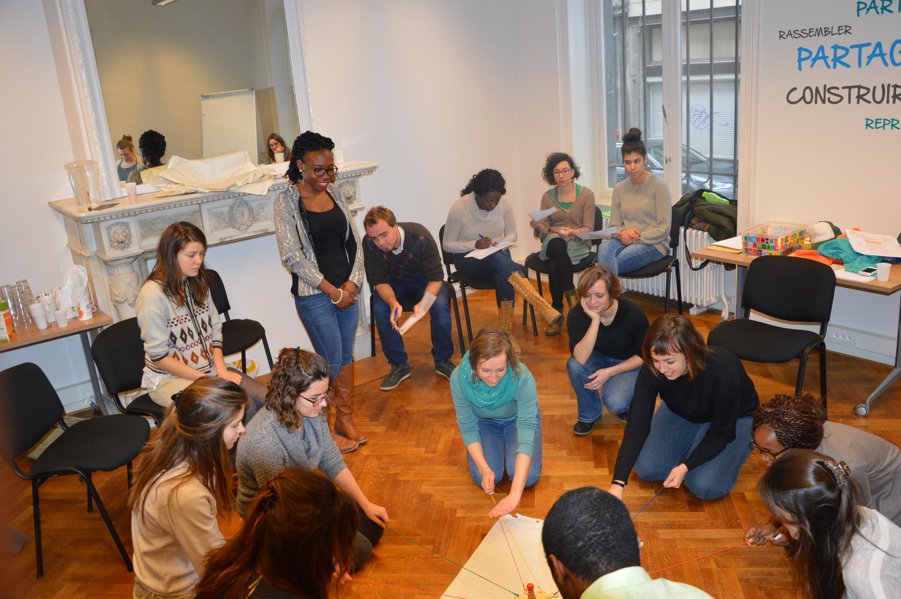 Formation d'animateurs bénévoles de MENA