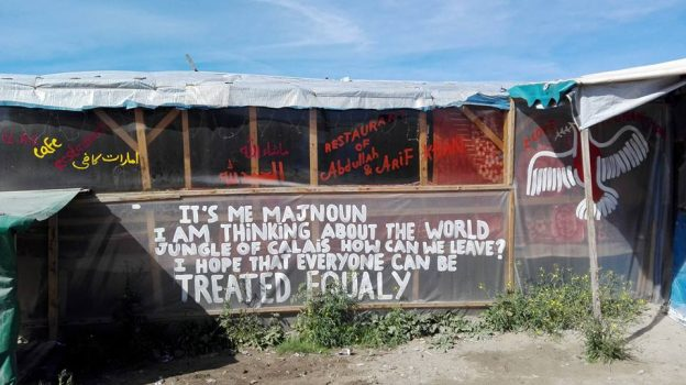 Rencontre avec les migrants de la Jungle de Calais et le groupe d'action Migration